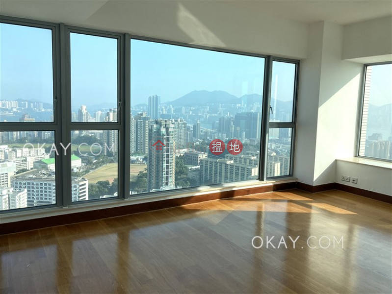 Property Search Hong Kong | OneDay | Residential Rental Listings | Stylish 4 bedroom on high floor with balcony & parking | Rental