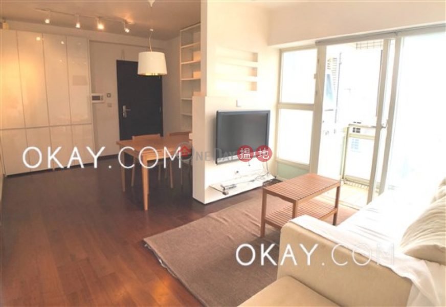 Lovely 3 bed on high floor with harbour views & balcony | Rental | 108 Hollywood Road | Central District Hong Kong Rental | HK$ 52,000/ month