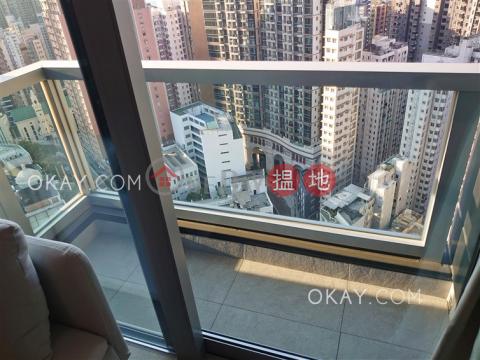 Lovely 1 bedroom on high floor with balcony | Rental|Resiglow Pokfulam(Resiglow Pokfulam)Rental Listings (OKAY-R378662)_0