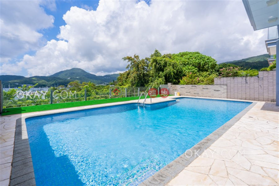 Luxurious house with rooftop, terrace & balcony   For Sale Ho Chung Road   Sai Kung, Hong Kong Sales, HK$ 138M