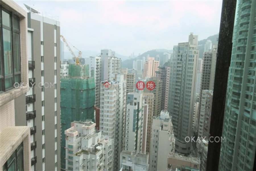 Stylish 3 bed on high floor with harbour views | Rental | 1 Seymour Road | Western District, Hong Kong Rental | HK$ 36,000/ month