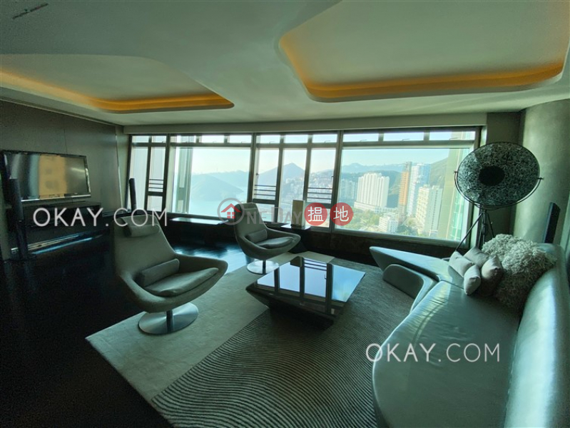 Property Search Hong Kong | OneDay | Residential | Rental Listings | Gorgeous 2 bed on high floor with sea views & parking | Rental