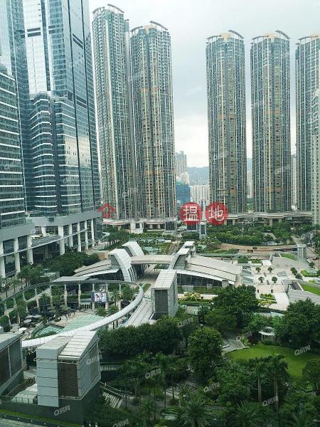 HK$ 41,000/ 月|君臨天下3座-油尖旺豪宅地段,地鐵上蓋,單邊海景《君臨天下3座租盤》