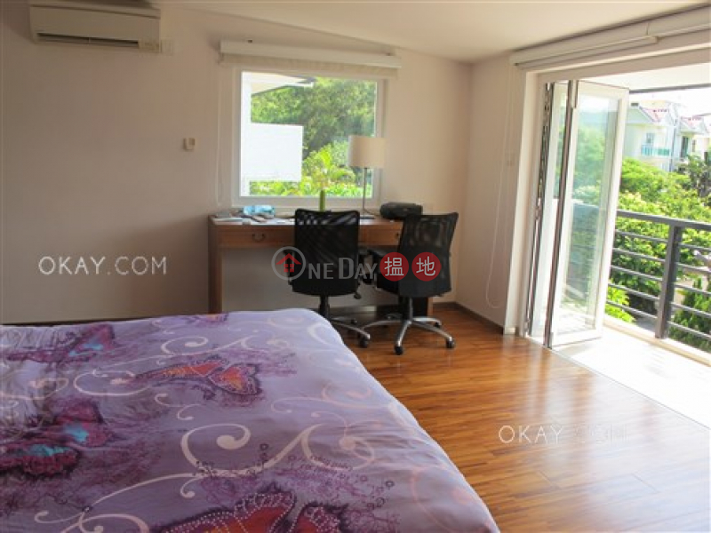 Stylish house with sea views, balcony | For Sale | Po Toi O Chuen Road | Sai Kung Hong Kong Sales | HK$ 38M