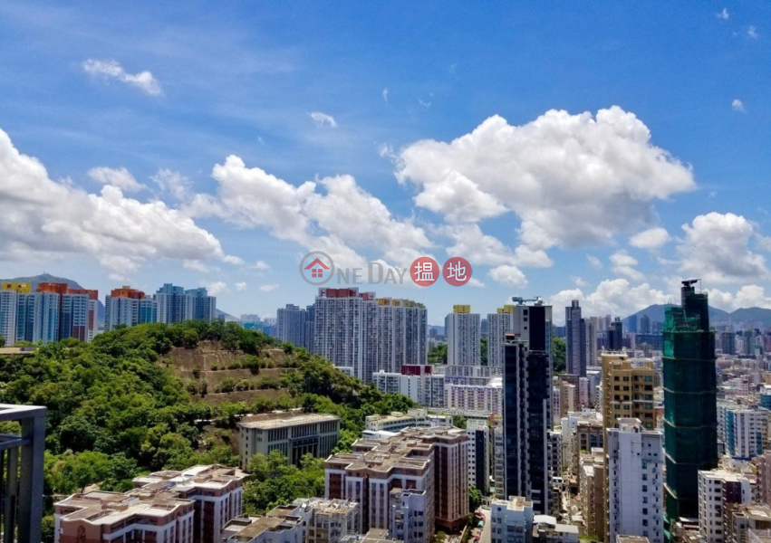 特色單位 連239呎 特大L型露台 空中庭園 可養寵物 83順寧道   長沙灣 香港 出租HK$ 25,500/ 月