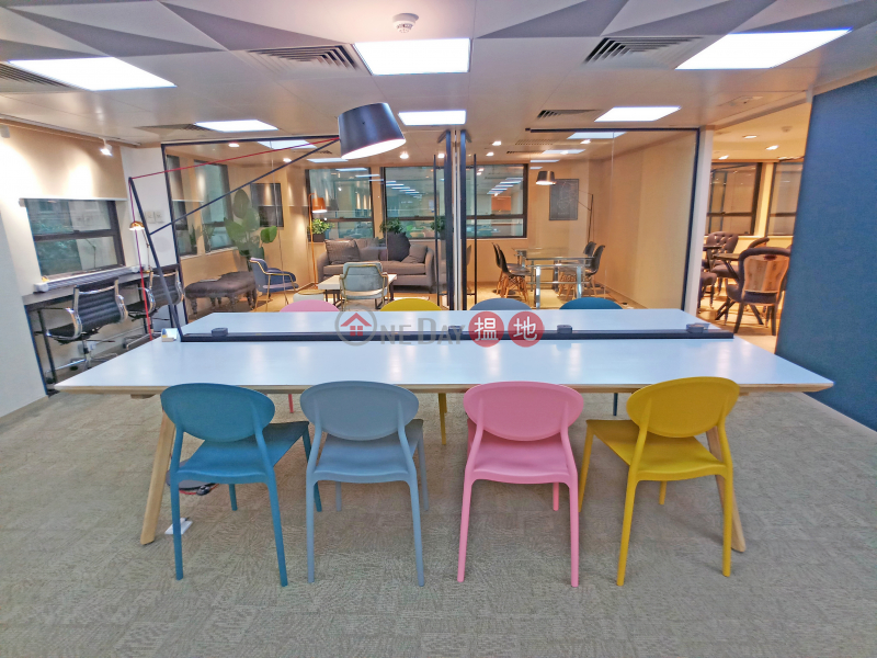 CO WORK MAU I Hot Desk Monthly Pass $2,000 & Event Zone $600 8 Hysan Avenue | Wan Chai District | Hong Kong | Rental HK$ 2,000/ month