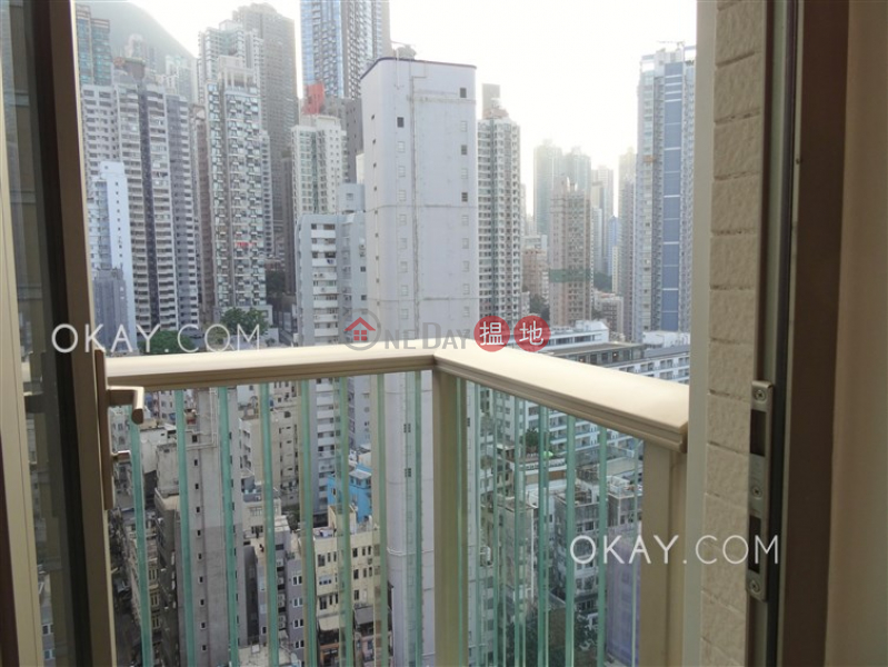 Gorgeous 3 bedroom with balcony | Rental | 23 Graham Street | Central District, Hong Kong Rental, HK$ 55,000/ month