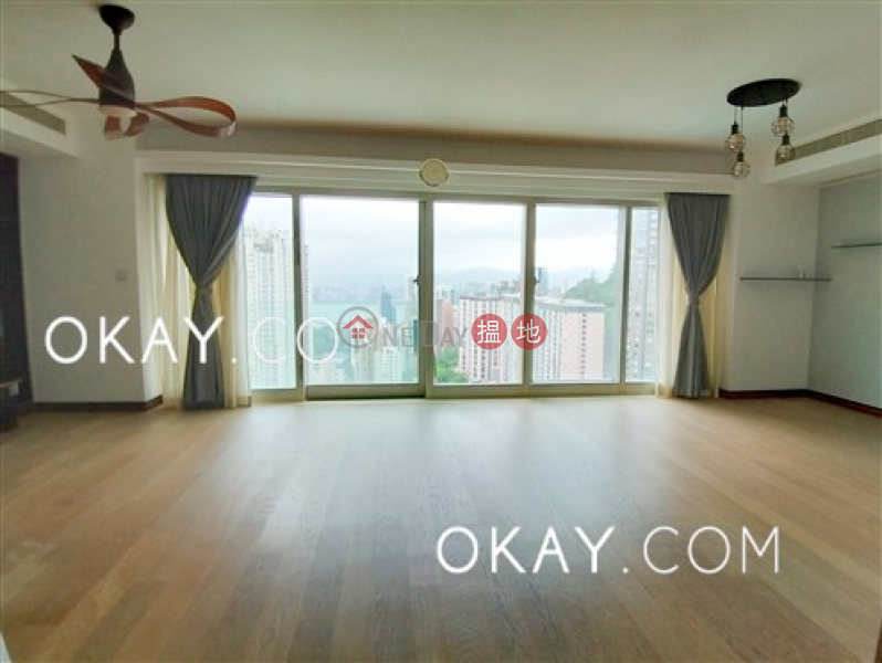 HK$ 76,000/ month The Legend Block 3-5   Wan Chai District   Beautiful 4 bed on high floor with balcony & parking   Rental