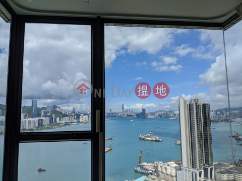 3 side windows facing South West North; Victoria Harbour + LeiYueMun strait view Super High Floor|Canaryside(Canaryside)Rental Listings (ANOV4758586766)_0