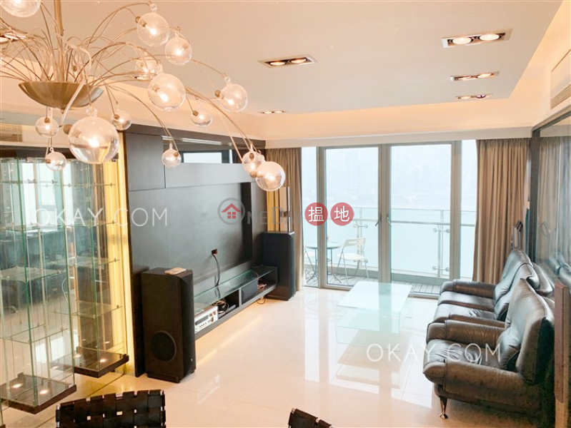 Rare 3 bedroom with balcony | For Sale 1 Austin Road West | Yau Tsim Mong, Hong Kong, Sales | HK$ 55M