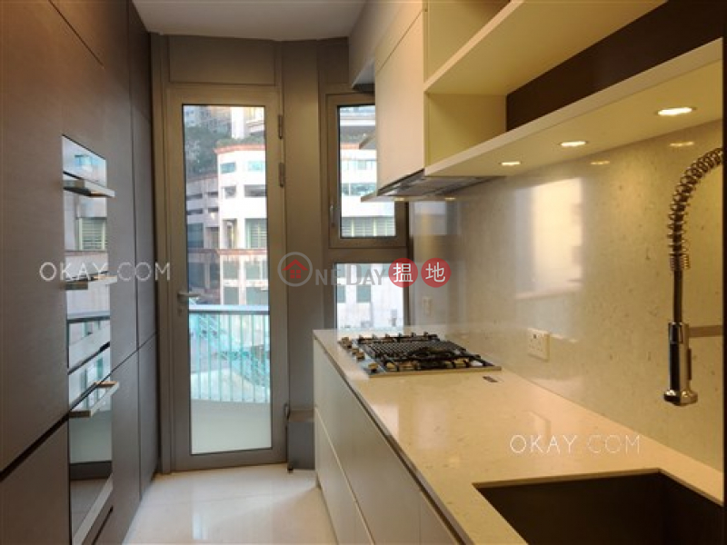 HK$ 118M, Argenta, Western District Stylish 3 bedroom with balcony & parking | For Sale