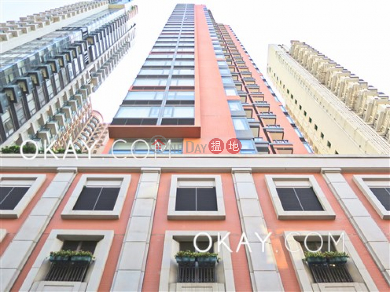 Property Search Hong Kong | OneDay | Residential Sales Listings | Unique 1 bedroom on high floor with sea views & balcony | For Sale