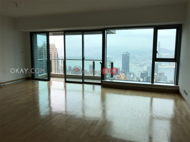 Beautiful 3 bed on high floor with balcony & parking | Rental 3A Tregunter Path | Central District | Hong Kong, Rental, HK$ 115,000/ month
