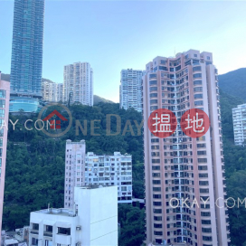 Stylish 2 bedroom on high floor with parking | For Sale