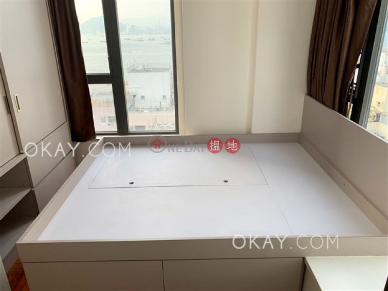 Charming 3 bed on high floor with sea views & balcony   Rental 18 Catchick Street   Western District Hong Kong Rental HK$ 28,500/ month