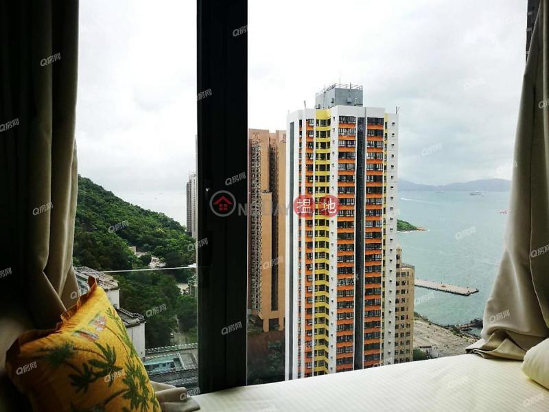 新樓靚裝,高層海景,即買即住,交通方便,鄰近地鐵《浚峰買賣盤》|11爹核士街 | 西區香港-出售HK$ 1,930萬
