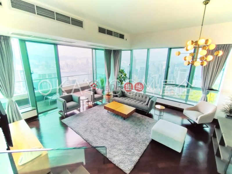 Stylish 5 bed on high floor with sea views & rooftop | Rental | 13 Bowen Road | Eastern District | Hong Kong | Rental HK$ 280,000/ month