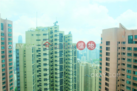 Lovely 2 bedroom on high floor with harbour views | For Sale|Hillsborough Court(Hillsborough Court)Sales Listings (OKAY-S30032)_0