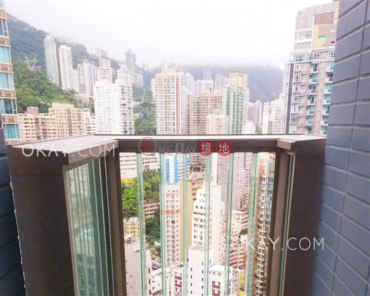 Cozy 1 bedroom on high floor with balcony | Rental | The Avenue Tower 2 囍匯 2座 Rental Listings