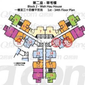 Wah Hau House, Wah Kwai Estate | 3 bedroom Low Floor Flat for Sale|Wah Hau House, Wah Kwai Estate(Wah Hau House, Wah Kwai Estate)Sales Listings (XGGD812303311)_0