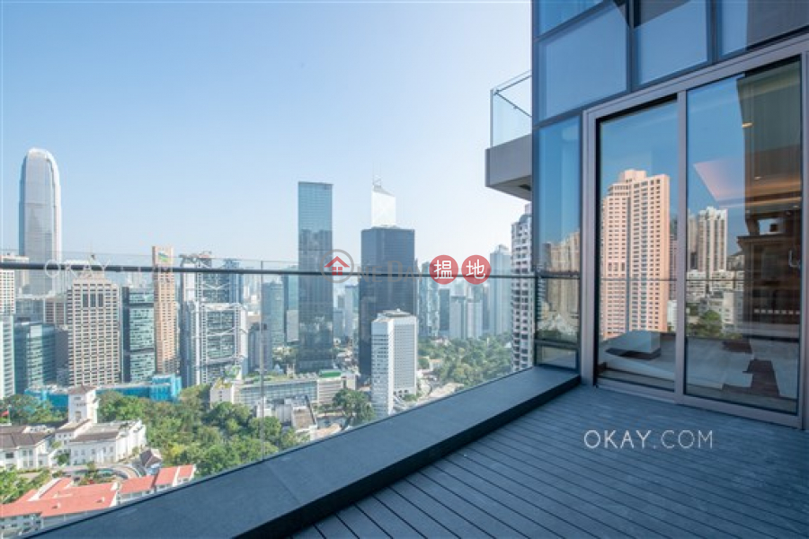Luxurious 3 bed on high floor with balcony & parking | Rental | Caine Terrace 嘉賢臺 Rental Listings