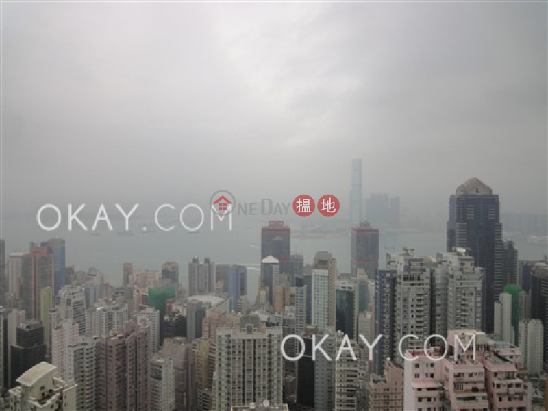 Property Search Hong Kong | OneDay | Residential | Rental Listings | Gorgeous 3 bed on high floor with sea views & balcony | Rental