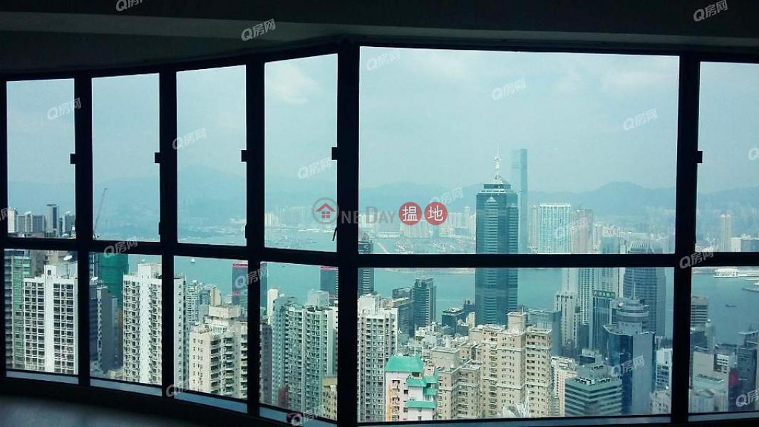 無敵景觀,豪宅地段,維港海景,市場罕有《帝景園買賣盤》|17-23舊山頂道 | 中區-香港出售|HK$ 1.3億