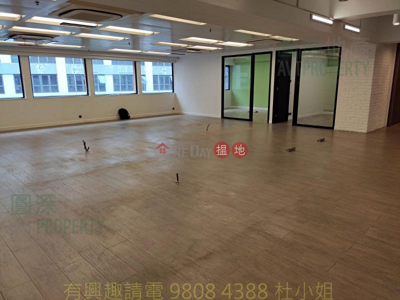近地鐵 寫字樓裝修 高樓底 景觀開揚6長義街 | 長沙灣|香港-出租HK$ 49,770/ 月