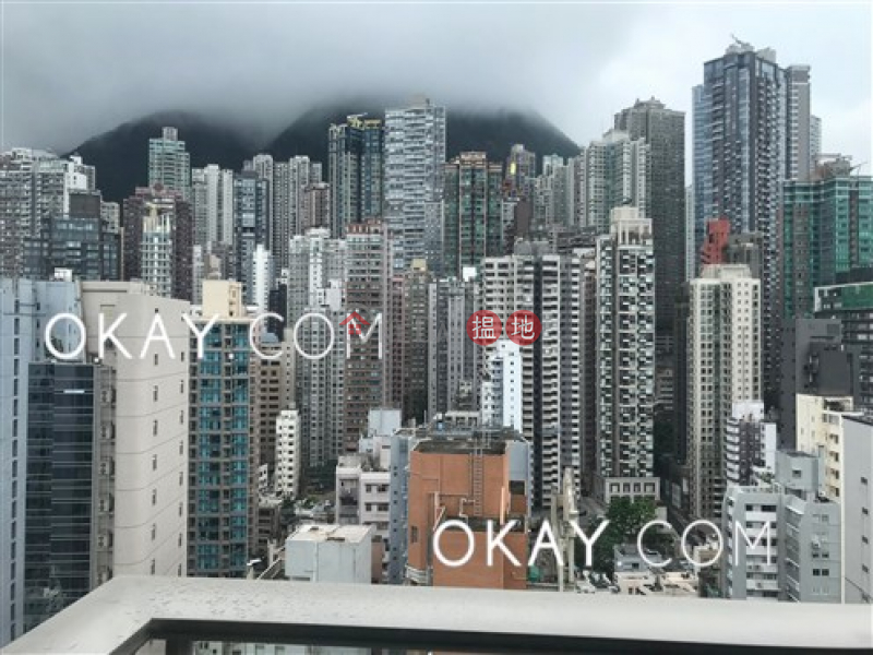 Exquisite 3 bedroom on high floor with balcony | Rental, 23 Graham Street | Central District, Hong Kong | Rental | HK$ 78,000/ month