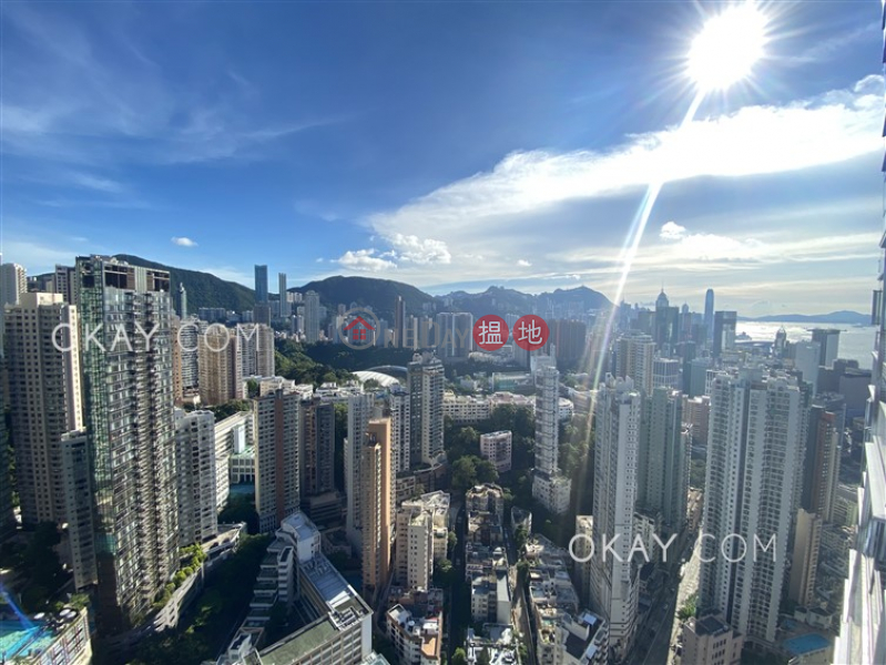 Exquisite 4 bed on high floor with balcony & parking | Rental | Serenade 上林 Rental Listings