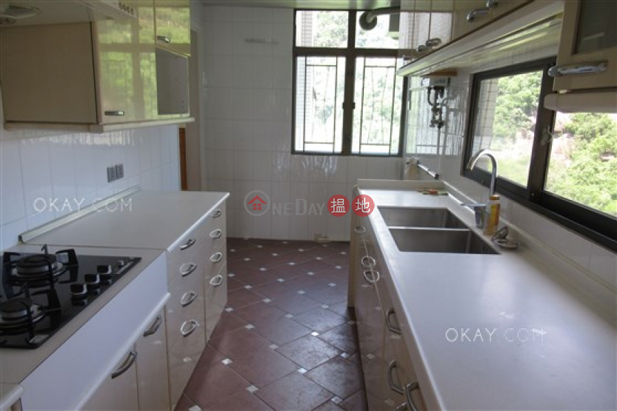 Beautiful 3 bed on high floor with balcony & parking | Rental | Amber Garden 安碧苑 Rental Listings