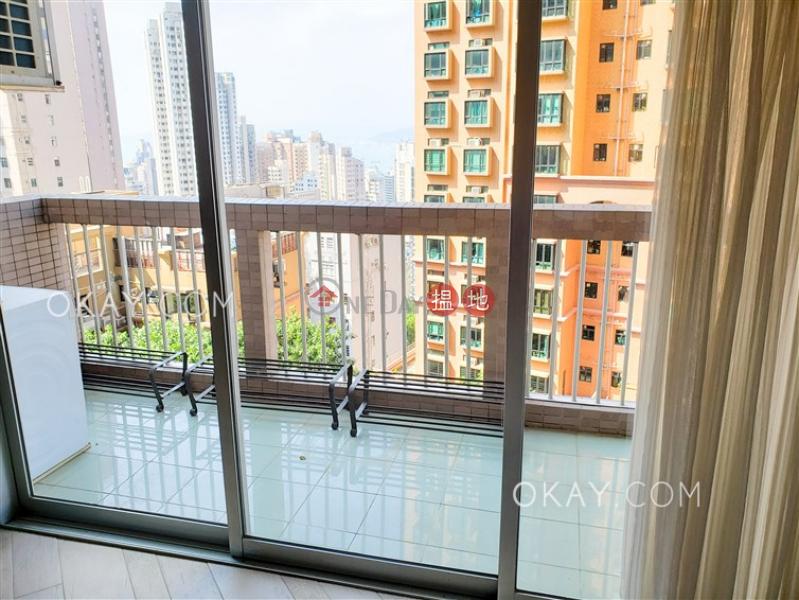 3房2廁,實用率高,星級會所,露台聯邦花園出租單位-41干德道 | 西區香港|出租-HK$ 50,000/ 月