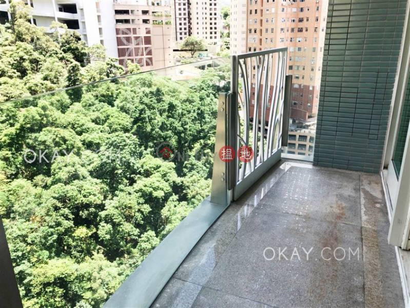 Property Search Hong Kong | OneDay | Residential | Rental Listings | Stylish 4 bedroom on high floor with balcony & parking | Rental