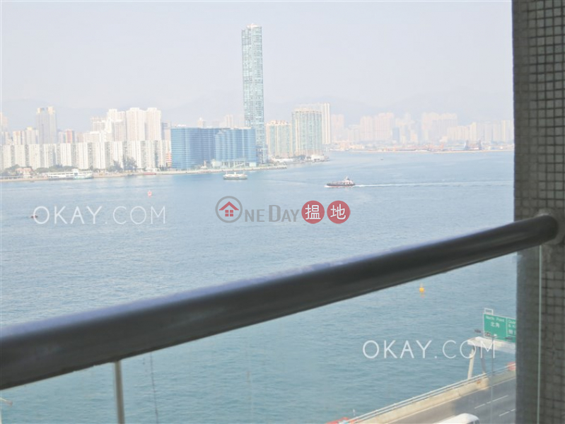 Elegant 3 bedroom with sea views & balcony | Rental | City Garden Block 7 (Phase 2) 城市花園2期7座 Rental Listings