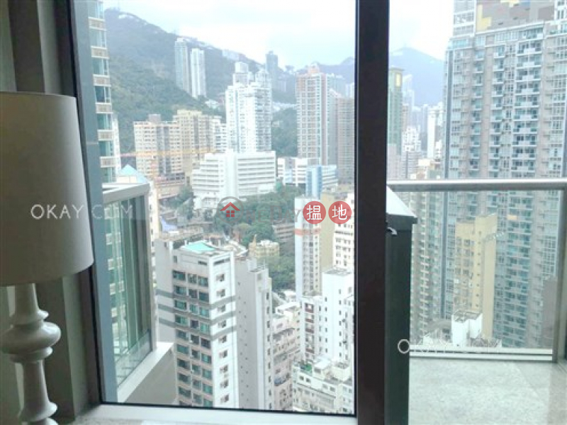 Stylish 1 bedroom on high floor with balcony   For Sale   The Avenue Tower 2 囍匯 2座 Sales Listings