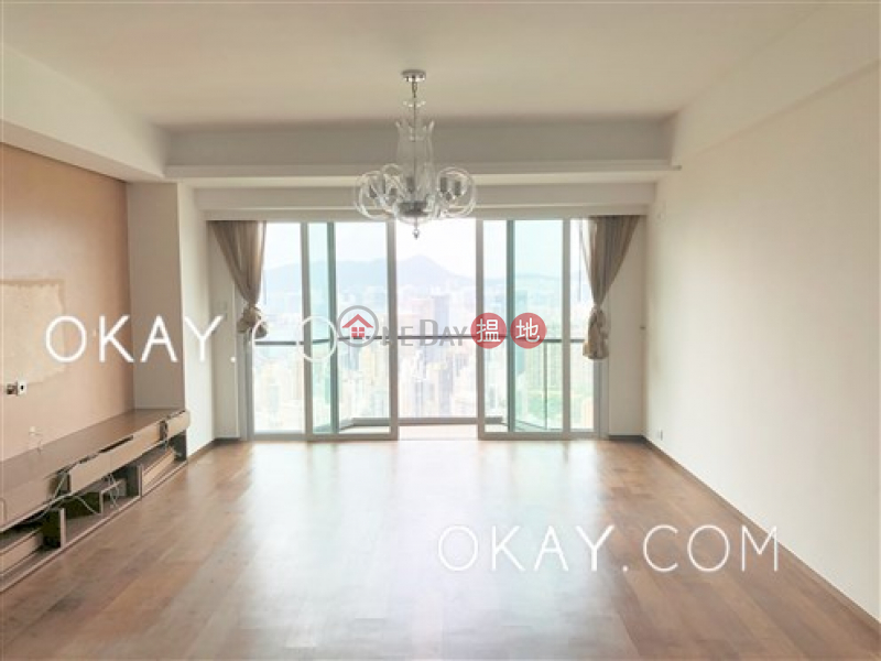 Efficient 3 bed on high floor with sea views & balcony | Rental | 47A Stubbs Road | Wan Chai District | Hong Kong | Rental HK$ 90,000/ month
