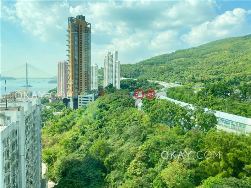 Unique 4 bedroom on high floor with balcony & parking | Rental | One Kowloon Peak 壹號九龍山頂 Rental Listings