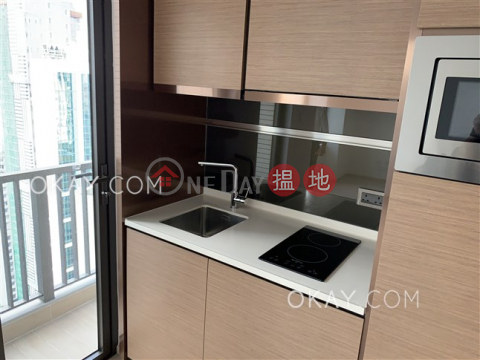 Tasteful studio on high floor with balcony | Rental|L' Wanchai(L' Wanchai)Rental Listings (OKAY-R323213)_0
