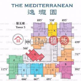 The Mediterranean Tower 5 | 3 bedroom High Floor Flat for Sale|The Mediterranean Tower 5(The Mediterranean Tower 5)Sales Listings (XGXGQ026400265)_0