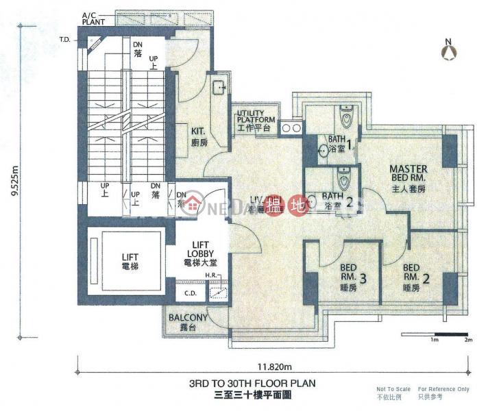 西營盤兩房一廳筍盤出租|住宅單位|蔚峰(High Park 99)出租樓盤 (EVHK99761)