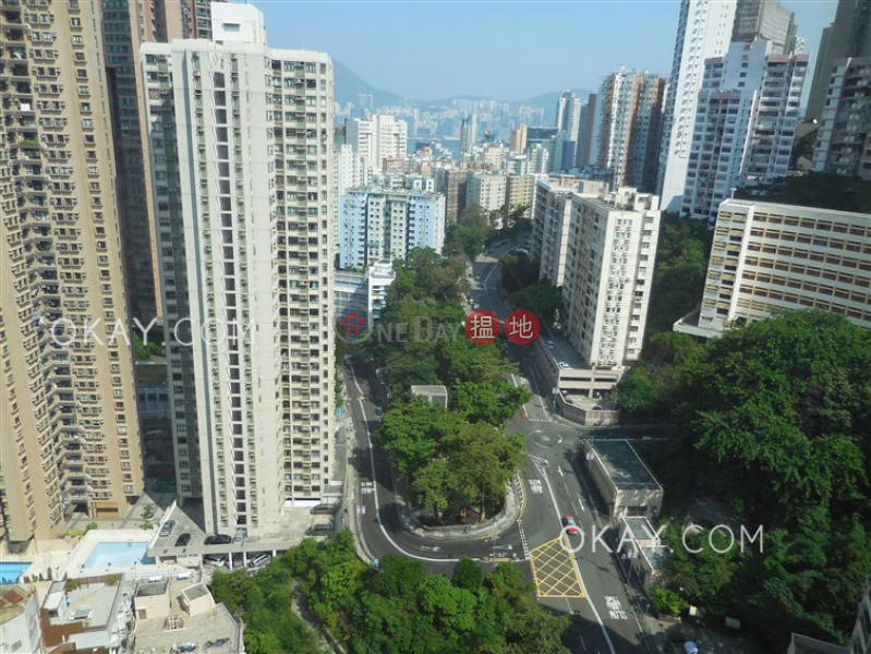 Unique 2 bed on high floor with harbour views & parking | Rental | Block B Viking Villas 威景臺 B座 Rental Listings