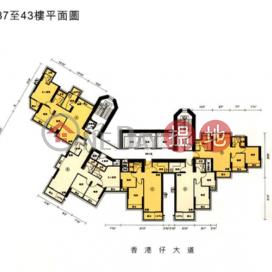 香港仔兩房一廳筍盤出售|住宅單位|南灣御園(Jadewater)出售樓盤 (EVHK43065)_0