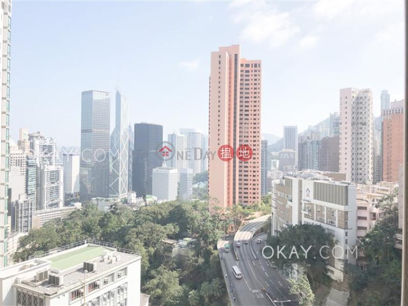Efficient 3 bed on high floor with balcony & parking | Rental | Robinson Garden Apartments 羅便臣花園大廈 Rental Listings
