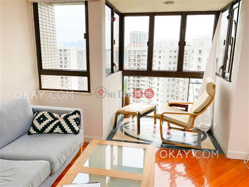 Efficient 3 bed on high floor with rooftop & balcony | Rental 15-43 Braemar Hill Road | Eastern District | Hong Kong, Rental | HK$ 55,000/ month