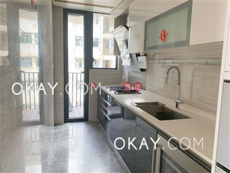 Exquisite 3 bedroom with balcony | Rental | Upton 維港峰 Rental Listings