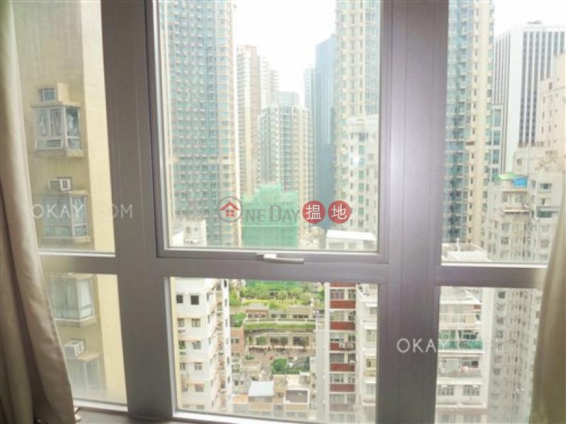 Charming 2 bedroom with balcony | Rental, J Residence 嘉薈軒 Rental Listings | Wan Chai District (OKAY-R80968)