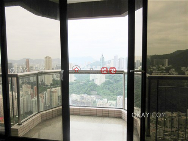 Lovely 4 bedroom on high floor with balcony & parking | Rental, 8A-8B Wong Nai Chung Gap Road | Wan Chai District, Hong Kong Rental, HK$ 85,000/ month
