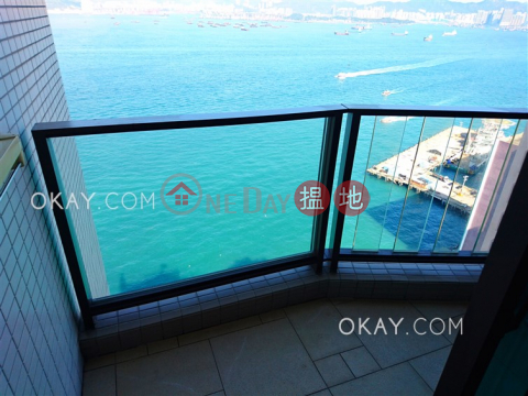 Lovely 2 bedroom on high floor with sea views & balcony | For Sale|The Sail At Victoria(The Sail At Victoria)Sales Listings (OKAY-S114514)_0