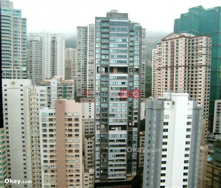 Property Search Hong Kong | OneDay | Residential | Rental Listings, Unique 2 bed on high floor with harbour views & balcony | Rental