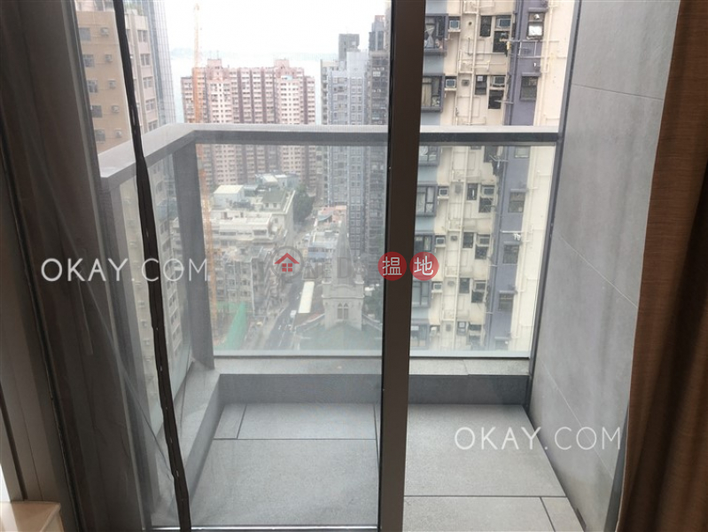 HK$ 26,000/ month | King\'s Hill Western District | Unique 1 bedroom with balcony | Rental